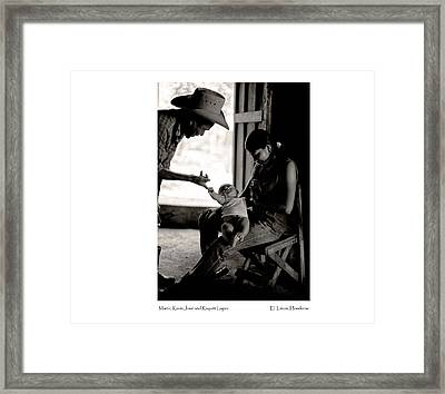 Kevin Jose Framed Print by Tina Manley