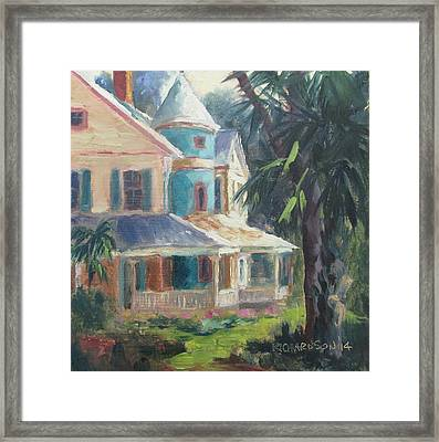Key House Framed Print