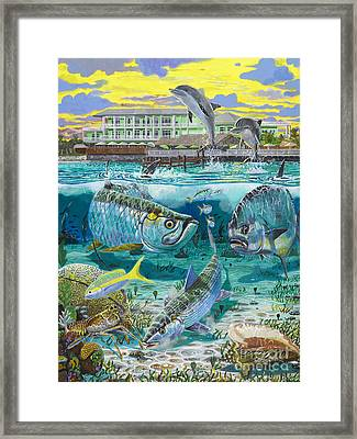 Key Largo Grand Slam Framed Print by Carey Chen