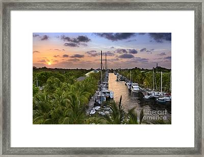 Key Largo Framed Print