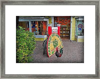 Key Lime Pie Co. Framed Print