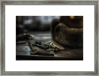 Key Of Life Framed Print by Nathan Wright