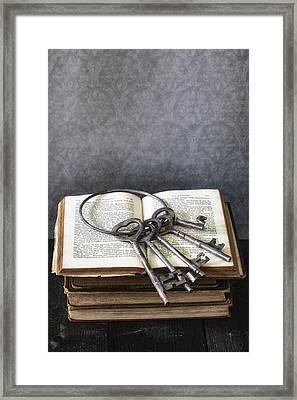 Key Ring Framed Print by Joana Kruse