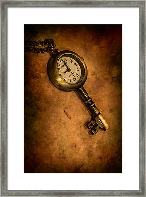 Key To Eternity Framed Print