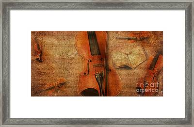 Key To The Soul Framed Print