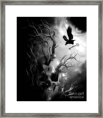 Key To The Unknown V.2  Framed Print by Putterhug  Studio