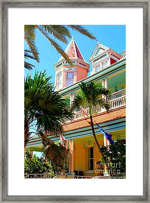 Key West Framed Print by Carey Chen
