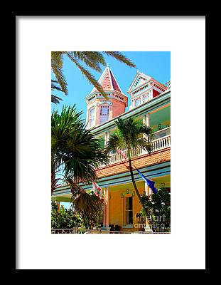 Mallory Square Key West Framed Prints
