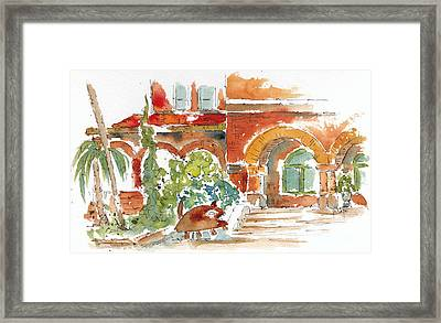 Key West Custom House Framed Print