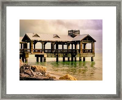 Key West Framed Print by Karen Wiles