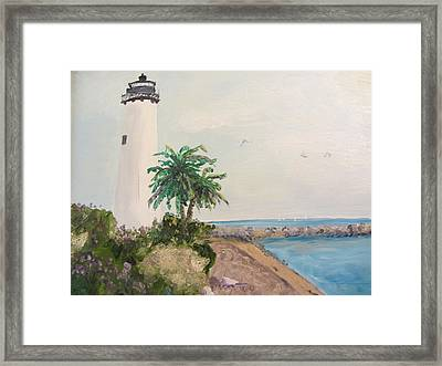 Key West Lighthouse Framed Print