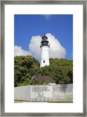 Key West Lighthouse Framed Print by John Stephens