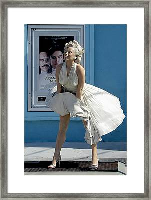 Key West Marilyn Framed Print