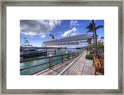 Key West Paradise Framed Print by Danny Mongosa