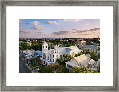 Key West Framed Print by Rod McLean