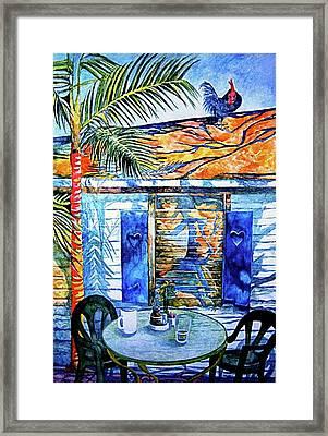 Key West Still Life Framed Print