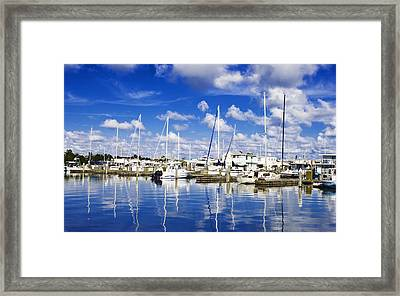 Key West Framed Print by Swank Photography