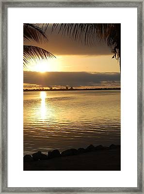 Key West Sunrise Framed Print