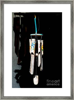 Key West Wind Charm  Framed Print