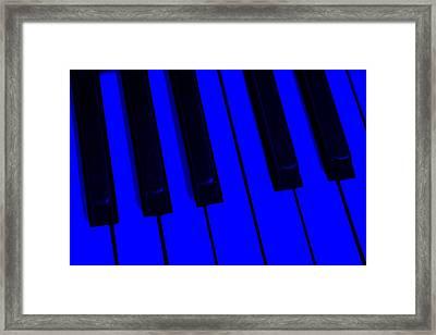 Keyboard Blues Framed Print by John Stephens