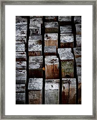 Keyboard Framed Print by Odd Jeppesen