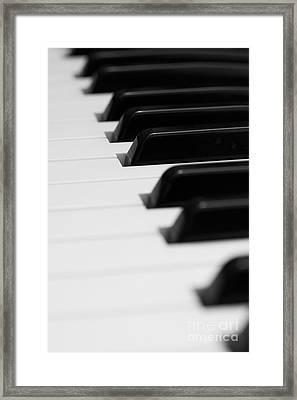 Keyboard Framed Print by Svetlana Sewell