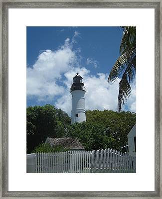Keys Beacon Framed Print