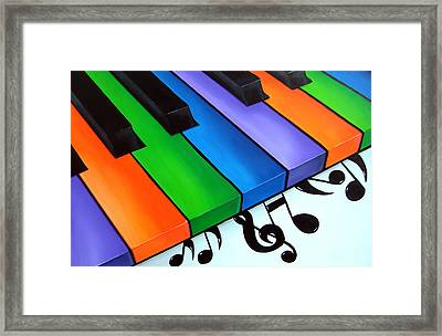Keys By Fidostudio Framed Print