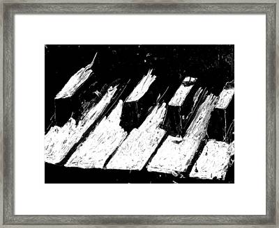 Keys Of Life Framed Print