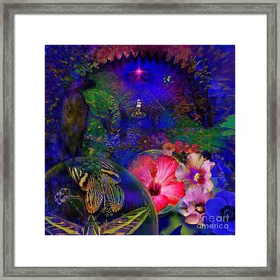 Solar Paradise Framed Print