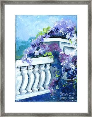 Keystone Bridge Framed Print by Gedda Runyon Starlin