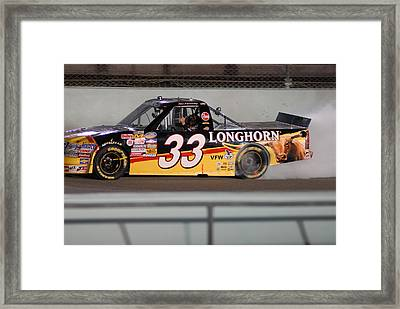 Kh 33 Truck Race Framed Print by Kevin Cable