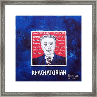Khachaturian Framed Print by Paul Helm