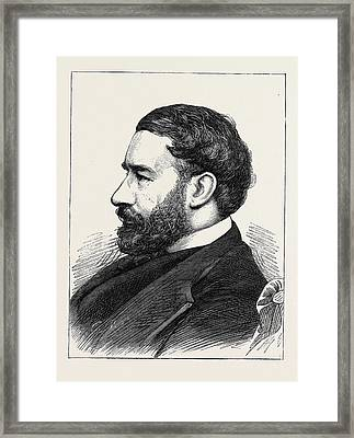 Khalil Sheriff Pasha Framed Print