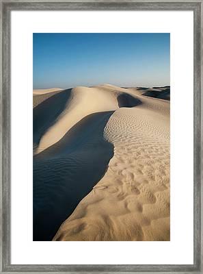 Khaluf Desert, Oman Framed Print by Sergio Pitamitz