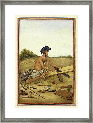 Khati Carpenter Framed Print by British Library