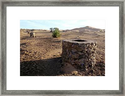 Khettara Shaft Framed Print