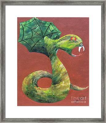 Khiel...the Snake Framed Print by JoNeL Art