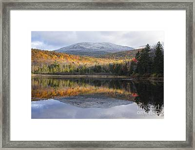Kiah Pond - Sandwich New Hampshire Usa Framed Print