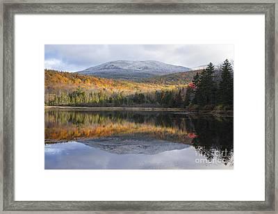 Kiah Pond - Sandwich New Hampshire Framed Print