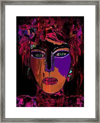 Kiara Framed Print by Natalie Holland