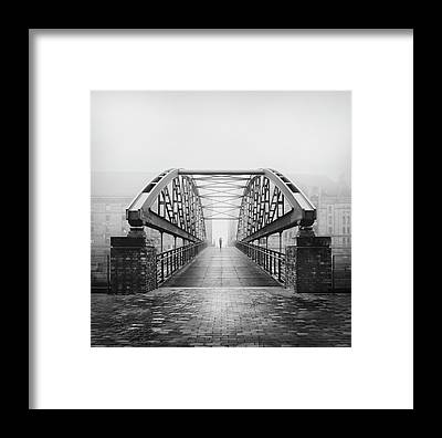 Canal Walk Framed Prints