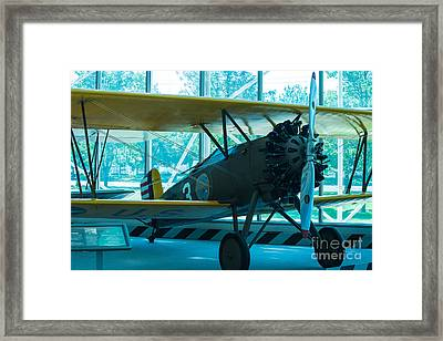 Kick In The Head Framed Print by Rich Priest