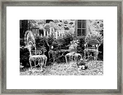 Kick Off The Work Boots And Relax Framed Print