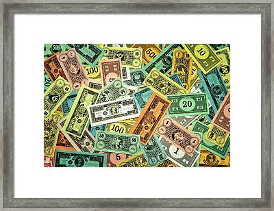 Kid Cash Framed Print by Benjamin Yeager