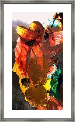 Kid Passenger Framed Print