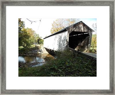 Kidder Hill Bridge 2 Framed Print by Catherine Gagne