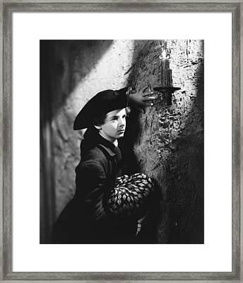 Kidnapped, Freddie Bartholomew, 1938 Framed Print by Everett