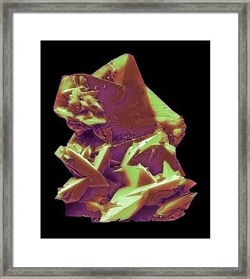 Kidney Stone Framed Print by David Mccarthy