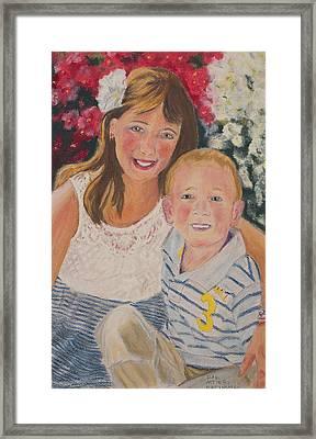 Kids 1 Framed Print by Dani Altieri Marinucci